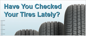 Checked Your Tires Lately?